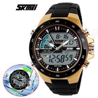 Skmei Brand Watch New Arrival Men's LED Digital ANALOG Quartz Sports Watch Fashion Military Wristwatches Diving Waterproof Watch