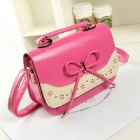 Fresh 2014 small bow the trend of fashion women's messenger bag handbag tote bag for women
