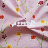 "Plum-blossom Three Movements Comfortable Soft 100% Cotton Fabric 20"" X 63"" FCX54"