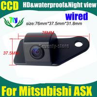 Car camera For  Mitsubishi ASX car rear view backup camera Pixels728*582 CCD HD Night Vision car parking camera