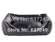 black leather bed promotion