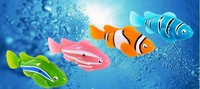 Best price 4 styles Robo Fish Magical Turbot Fish Christmas Kids Toys