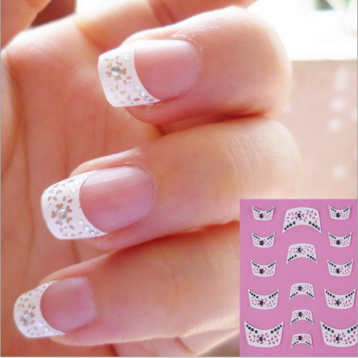 3d Decal French Tips