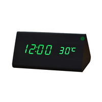Factory Sale Cheap Digital LED Projector Alarm Clock Mini Desktop Multi-function Weather Station,electronic display home decor