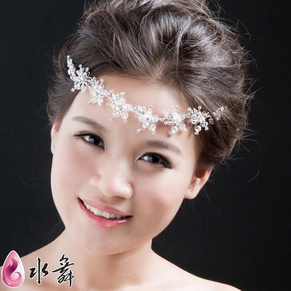 The bride hair accessory marriage hair accessory rhinestone Flowers wedding dress set crystal garishness Headdress flower