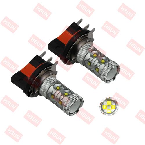 2pcs/lot BRIGHTNESS 60W LED Cree High Power,H15 LED AUTOMOTIVE LIGHT,H15 CAR BULB LED,H15 LED HIGH POWER(China (Mainland))