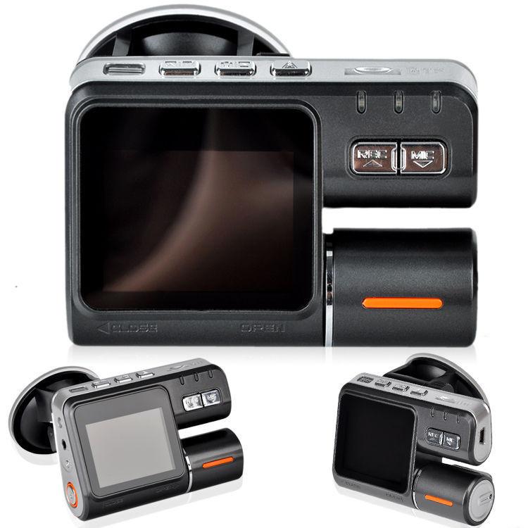 HD 720P Dash DVR Car Styling Video Camera Recorder Crash Camcorder G-sensor i1000 Free Shipping(China (Mainland))
