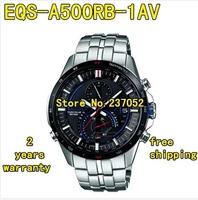 EQS-A500RB-1AV New Chronograph Men's Quartz Movement Watch EQS-A500RB-1A EQS A500RB