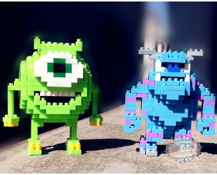 Despicable Me Joege Minions Minifigure LOZ Diamond Bricks Building Blocks Sets 220pcs Educational DIY Construction Bricks Toys(China (Mainland))