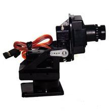 Free shipping Boscam CMOS camera with Pantilt FPV CM210 720 480 HD Camera gimbal PTZ Servo