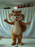 2015 100% positive feedback seller new design nice squirrel mascot costume chipmunk costumes