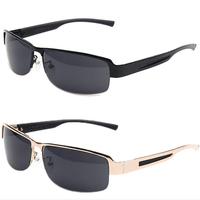 Sunglasses men polarized 2014 Summer lens metal frame nylon luxury fashion vintage mens sunglasses brand designer men glasses