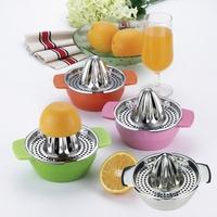 Stainless steel manual juicer orange lemon press juice device child fruit juicer gift fruit juice machine