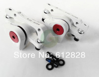 Hot sale 2x Cable Disc Brake Front & Rear Caliper White Forged Aluminum