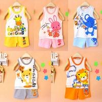 Baby Children clothing set,  girls boys t shirt+pants suit undershirt Shorts,kids pyjama set,Children t shirts 2014 new BOS.361