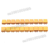 10 pairs/lot XT60 Bullet Connectors Plugs Male/Femal for RC Battery