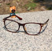 Free shipping! 2014 Most popular eyeglasses Men/Women big frame glasses Fashion eye glasses High Quality have lens