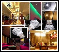 100Pcs/lot Dimmable 3 LED Spot Light Bulb Lamp 3W E27 270LM White/Warm White L13