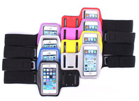2014 Colorful Outdoor Sport Running Arm Band Gym Strap Holder Case Cover  for iPhone 5C 5G 5S