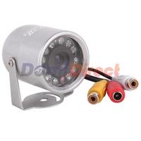 Hot sale 12 LED 380TVL mini Dome camera 1/3 COMS CCD night wide Vision Security light CCTV camera