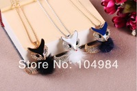 2014 New Arrival Hot Selling Korean cute color fox Necklace N272