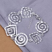 Lose Money! Free Shipping Wholesale 925 silver bracelet, 925 silver fashion jewelry Screw bracelet H324