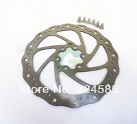 MTB Bike One Silver 180mm Disc Brake Rotor for SHIMANO AVID with 6 Bolt IS