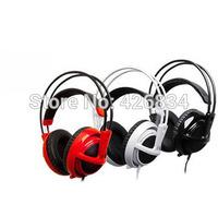 Steelseries Siberia V2 Earphone OEM V2 Headphone Pro Gaming Headset V2 Siberia Natus Vincere Edition 4Colors Free Shipping(AC)