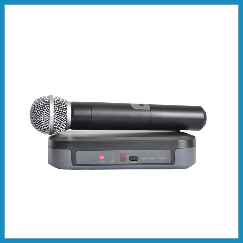 PG4 Hot sell cheap price professional dj equipment ktv karaoke VHF Wireless Microphone(China (Mainland))
