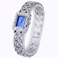 2014 New Blue Face Women's Fashion Woman's Lady's Girls Analog Dress Quartz Hours Gifts Wrist Watches, Free & Drop Shipping