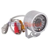 New 30 LED Color Video/Audio Dome Camera Outdoor/Indoor IR CMOS Night Vision Security Surveillance Mini CCTV Camera