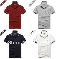 New Arrive 2014 Summer Men's Brand Polo Shirt High Quality Plus Size Cotton Polo Men M-XXL #H03-394