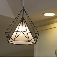 European modern minimalist iron chandelier, home, restaurant lighting
