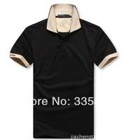 New Arrive 2014 Summer Men's Brand Polo Shirt High Quality Plus Size Cotton Polo Men M-XXL #r99-32
