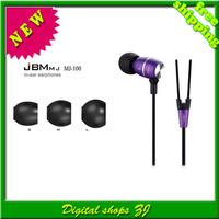 Free shipping 5pcs/lot Sports ear MJ-100 earphone Running High Quality Stereo Earphones Headset for PC MP3 MP4 iPod