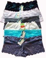 HOT Sales Free Shipping Transparent Qualitative Lace Lingerie Women's panties Women Underwear 10 pc/lot