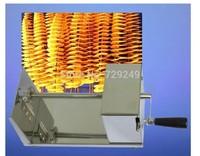 Free shipping Stainless Steel Tornado potato machine, potato spiral cutting machine potato cutter machine /potato chips machine
