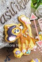 Free ship!!!     fawn 45mm simulation cream phone beauty DIY accessory  wholesale