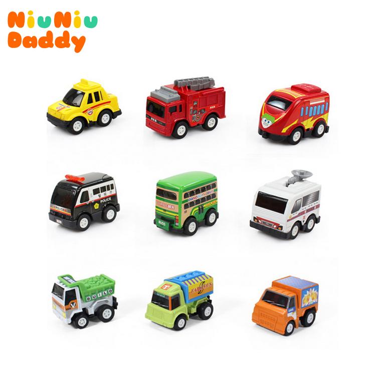 multicolor plastic mini pull back model car educational toys children free shipping