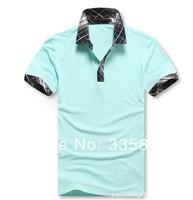 New Arrive 2014 Summer Men's Brand Polo Shirt High Quality Plus Size Cotton Polo Men M-XXL #H8930