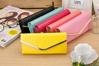 2014 New arrival  women wallet  in high quality PU material with multiple color