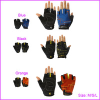New Gel Mountail Bike Bicycle Gloves Half Finger, Racing Riding Cycling Gloves for Women (M/S/L)