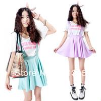 2014 summer braces candy basic spaghetti strap one-piece dress