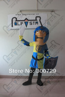 POLE STAR MASCOT COSTUMES character top quality soldier mascot costumes
