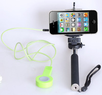Gorillapod Type Handheld Monopod Mini Tripod+Shutter Cable+Holder Clip For Iphone 4 4s 5 5s IOS