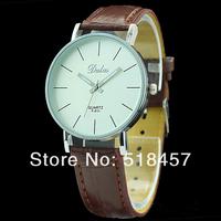 5 PCs/Lot Quartz Leather Wrist Bracelet Fashion Women Watch Ladies Wristwatch