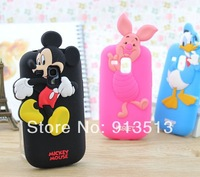For samsung galaxy s3 mini case rubber silicone mickey minnie mouse cell phone cases cover for samsung galaxy s3 mini i8190