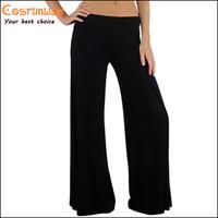 Hot Sale New 2014 Brand Casual Women Pants Loose Women's Zigzag Palazzo Wide Leg Pants 5 Colors