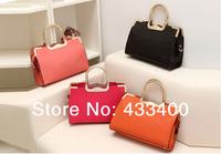 Free Shipping New 2014 Retro Women Handbag Candy Colors Women Messenger Bags Women Leather Handbags Women Bag WB3068