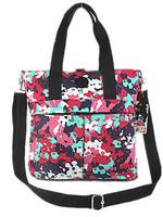 KP-018 FREE SHIPPING 2014 hot new waterproof nylon brand shoulder women travel strap style lady handbag